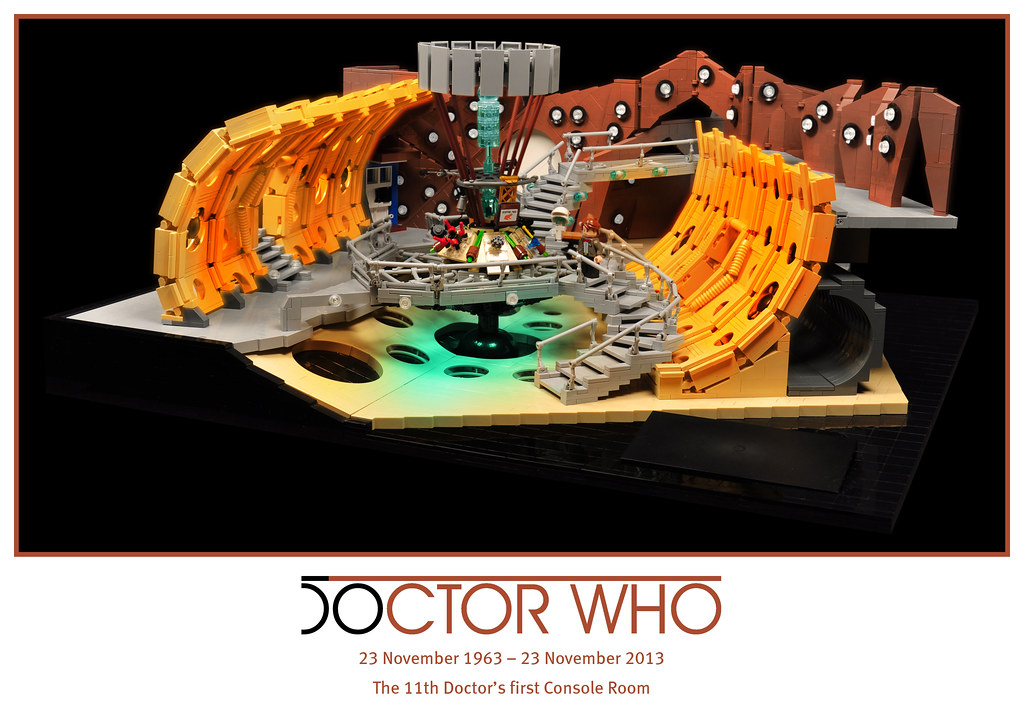 50 years of Doctor Who – The 11th Doctor's TARDIS Console ...