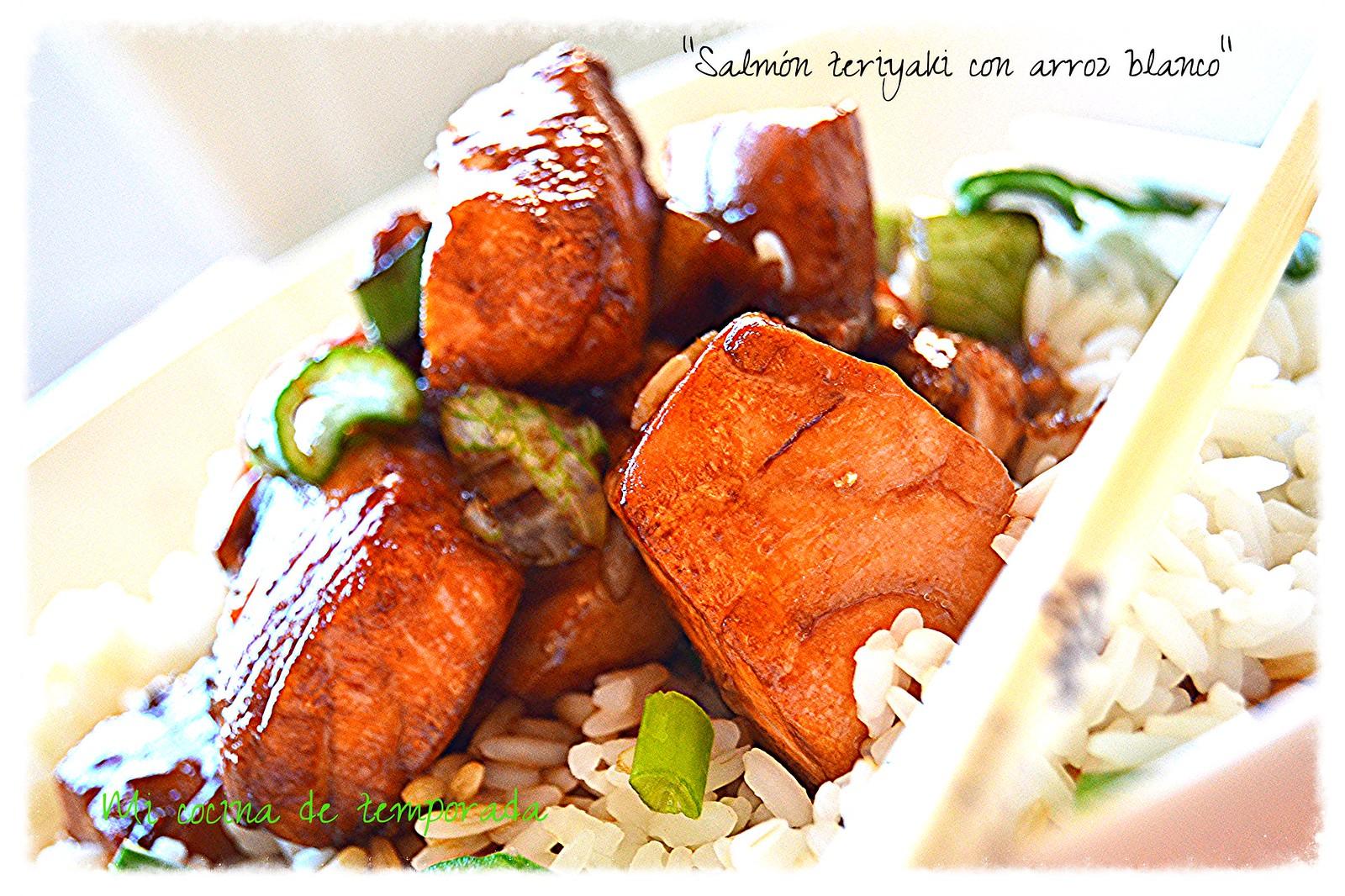 arroz con salmon al teriyaki 014