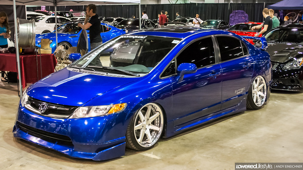 8th gen civic bagged honda civic lowered lifestyle flickr. Black Bedroom Furniture Sets. Home Design Ideas