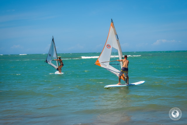 Windsurfing Near Sosua Dominican Republic