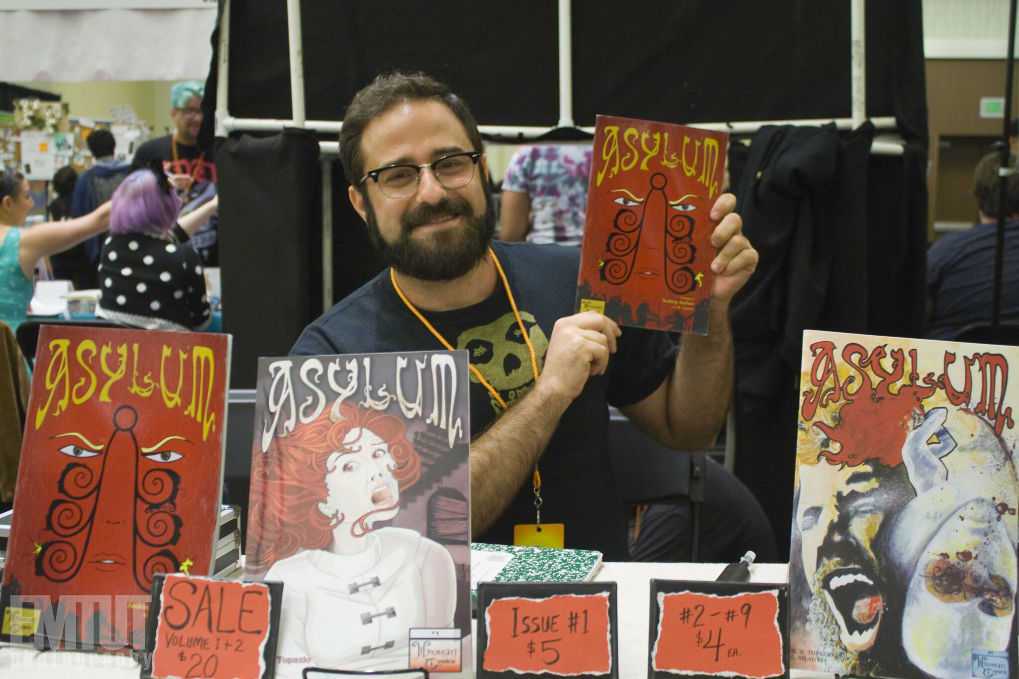 Gabriel Moore-Topazio, Wrought  Comics (credit: EMTUT Photography)
