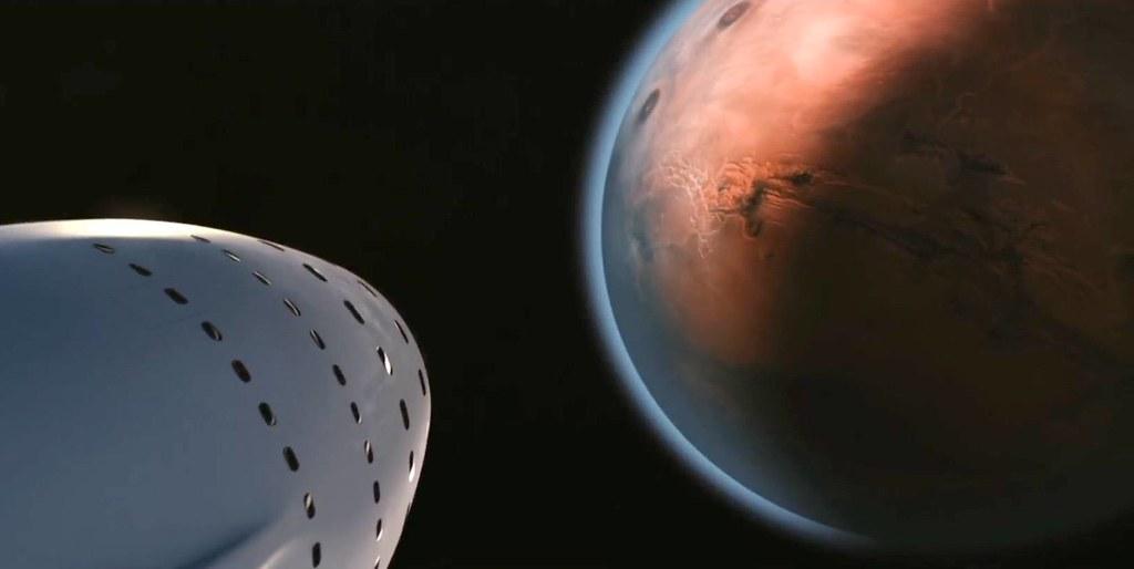 Boeing заявил онамерении опередить SpaceX ввысадке человека наМарс