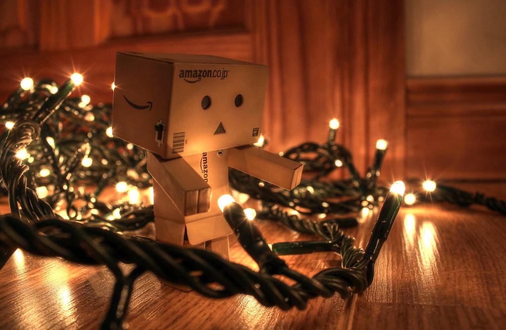 White On White Christmas Lights