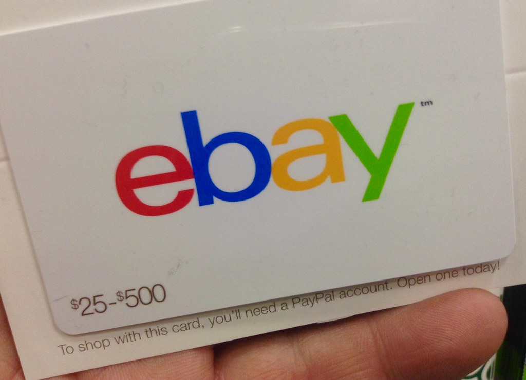 ebay ebay gift card 1 2015 by mike mozart of thetoychann flickr. Black Bedroom Furniture Sets. Home Design Ideas