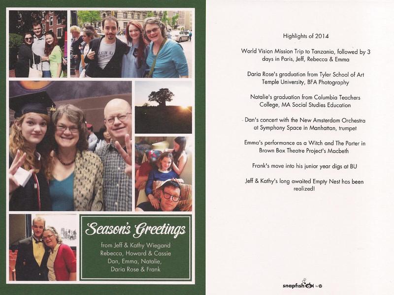 2014 Holiday Card fb