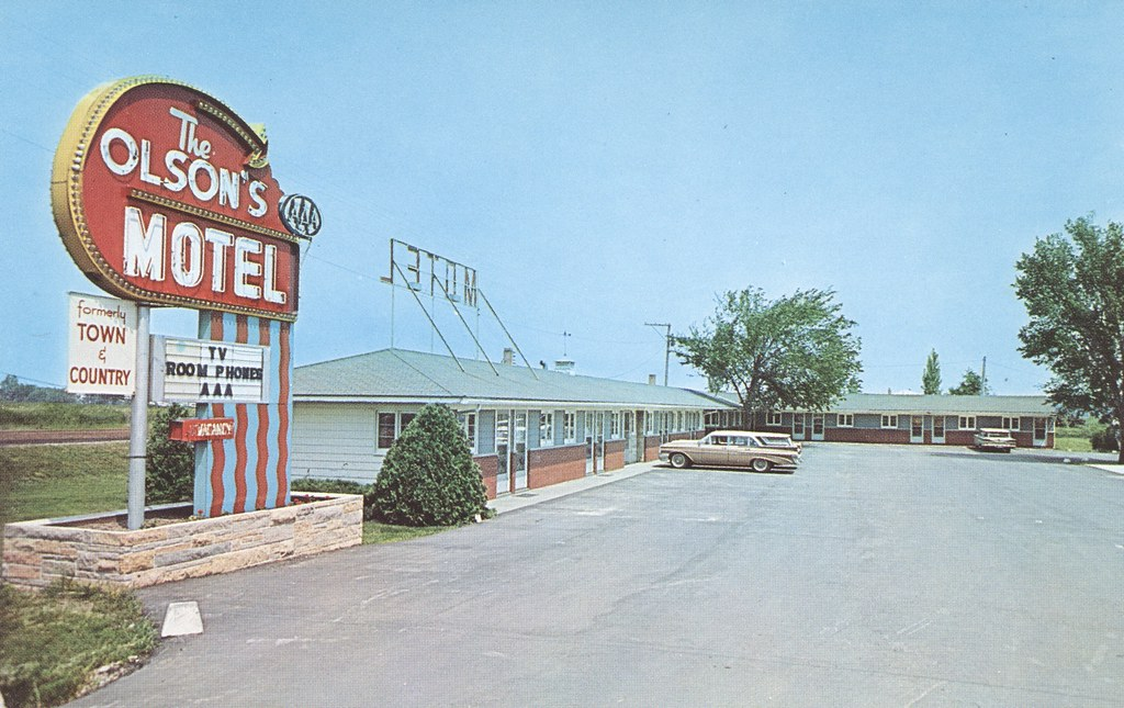 Olson's Motel - Cedar Rapids, Iowa