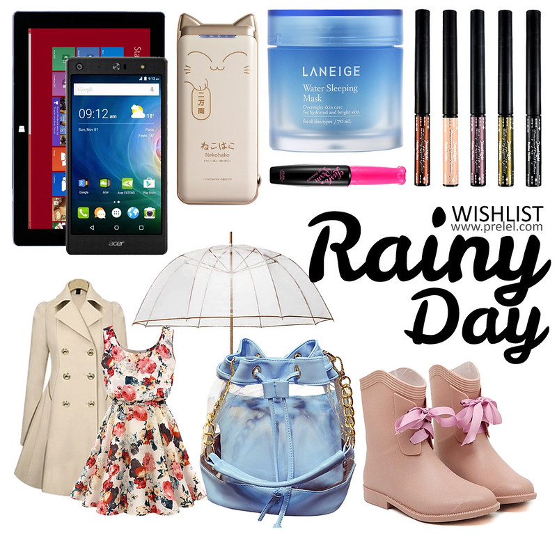 Win a wish from ShopBack: Rainy Day Wishlist