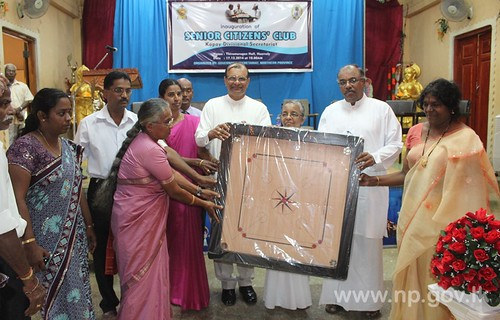 """Governor's Senior Citizens Club"" ceremonially opened at Kopay – 17 December 2014"