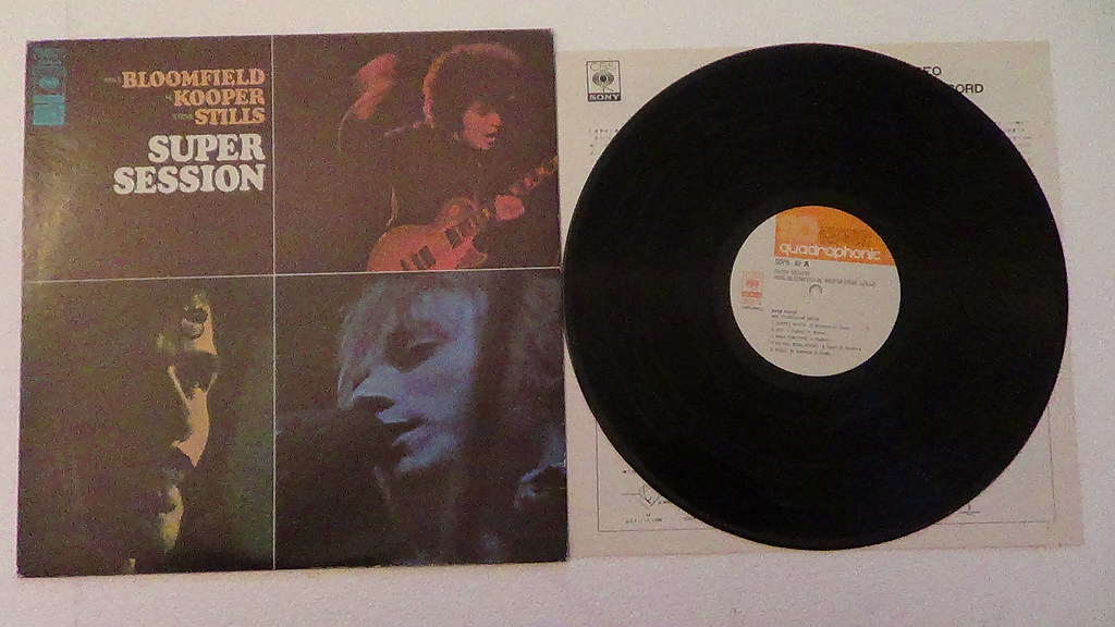 Mike Bloomfield Super Session Records Lps Vinyl And Cds