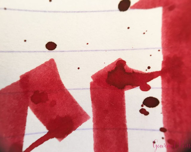 Ink Shot Review Blackstone Uluru Red @AndersonPens 8