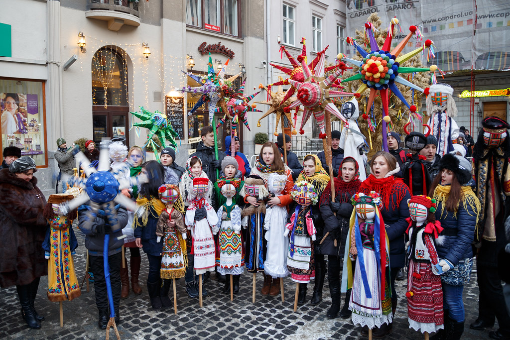 Nice Ukraine Christmas Traditions #1: 16156564579_791015dfb2_b.jpg