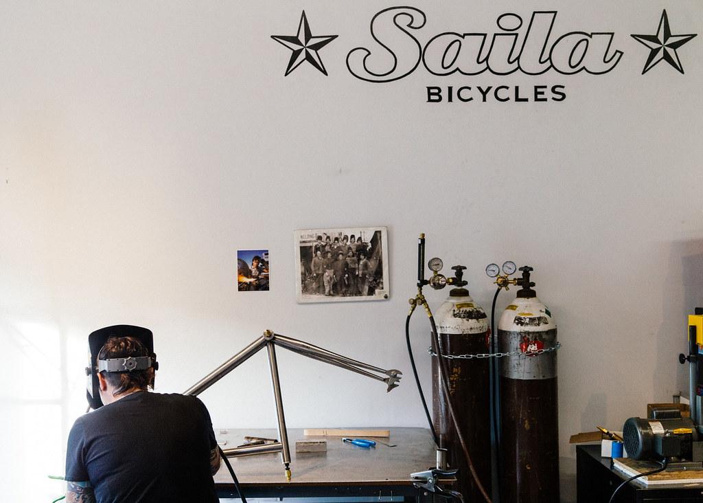 Saila Bikes: Handmade in Austin Titanium Frames | see more a… | Flickr