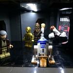 Death Star Scenes MOC