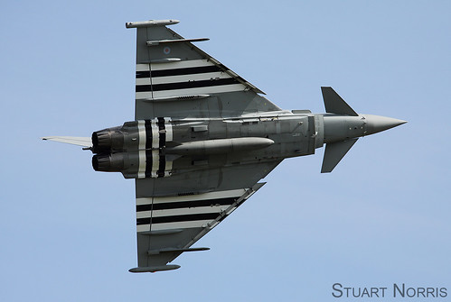 Eurofighter Typhoon FGR4 Duxford D-Day show | by stu norris
