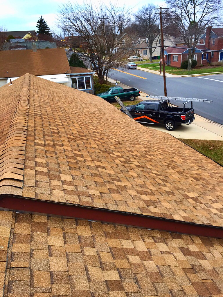 New Tamko Heritage Shingle Roof InstallRustic Cedar Colorj