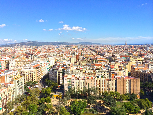 View from Sagrada Familia | by mariamjaan