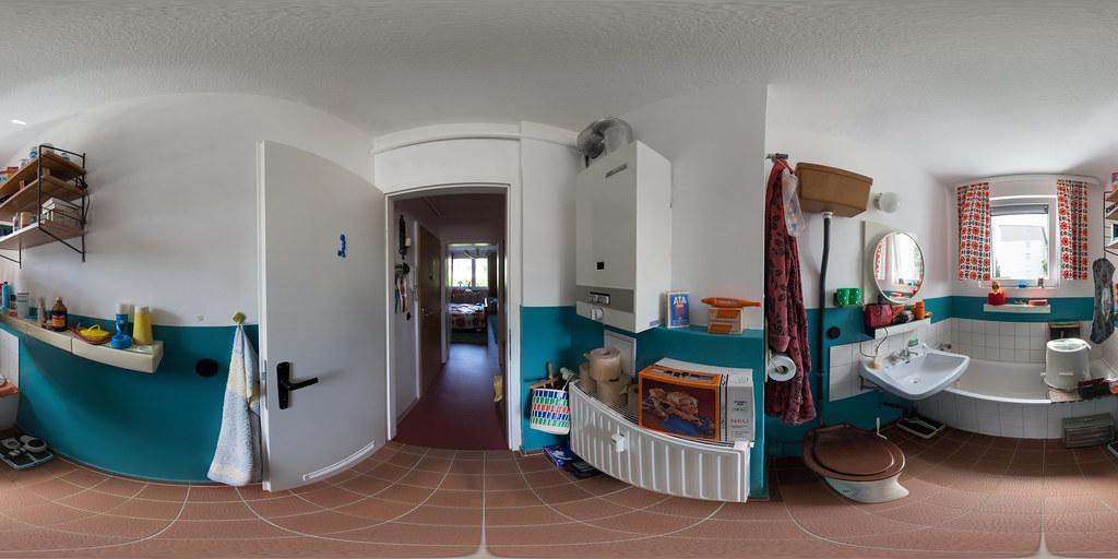 Alltag In Der Ddr Das Badezimmer 360 X 180 Mwg Museums Flickr