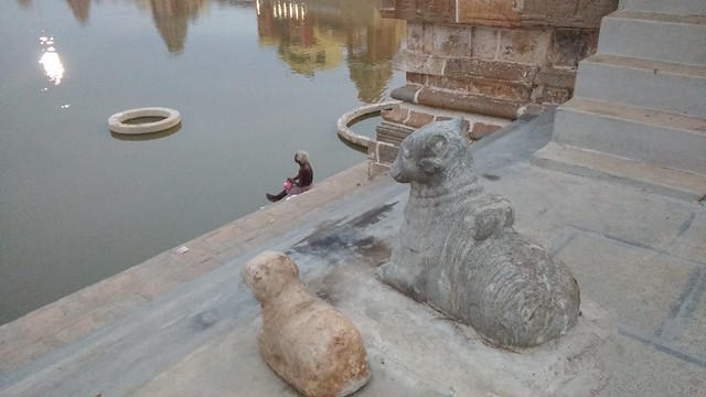 These stone steps have witnessed millions of devotees coming to the Mahamaham tank seeking salvation.