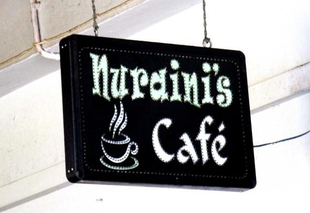 Nuraini's Cafe, inside