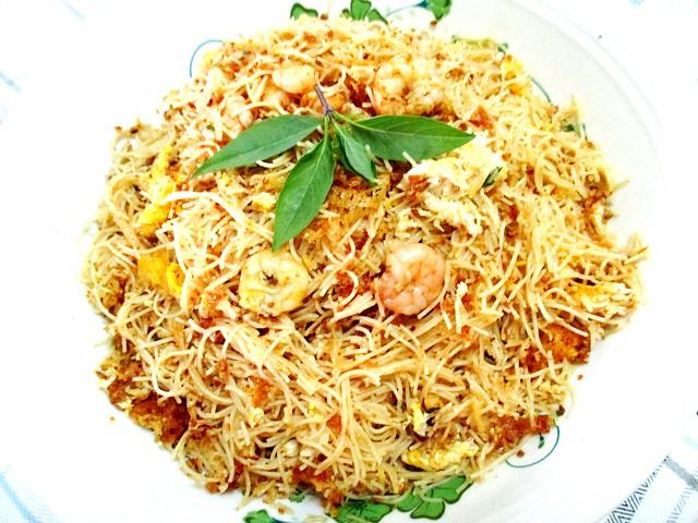 Mee siam with Prima Taste paste