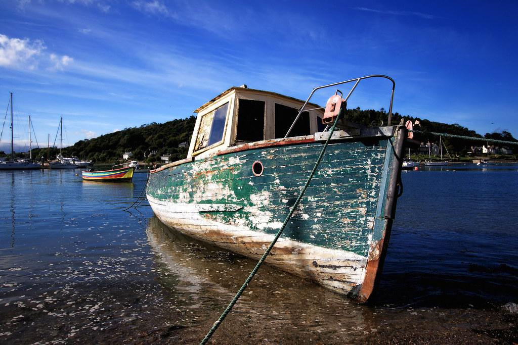 A Little Boat Adrift