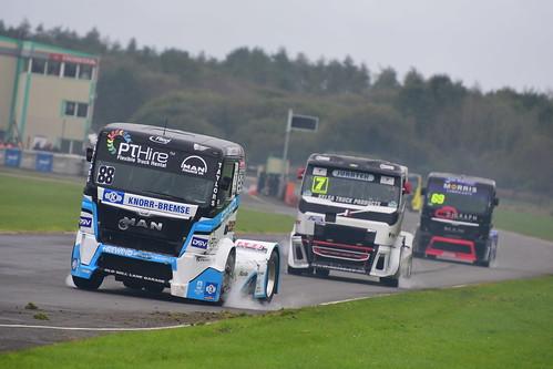 Ryan Smith, MAN TGA 12000, British Truck Racing Championship, Pembrey 2016