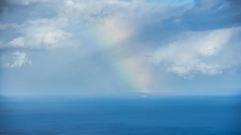 Barco bajo el arcoiris | freakyman | Flickr