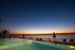 Sunset at the Dead Sea // Trip to Jordan
