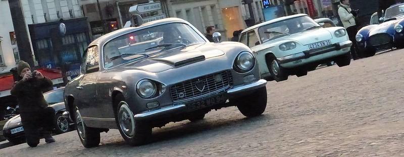 Lancia Flaminia S.S. Zagato traversée de Paris 2015 16081454689_a88691d1a6_c