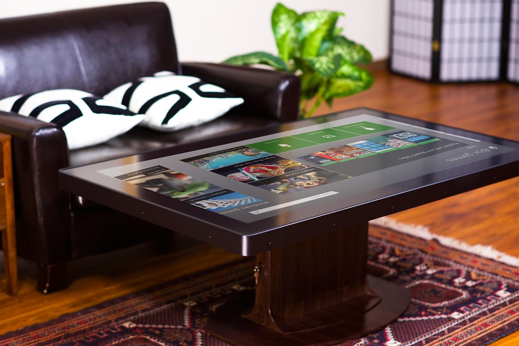 Custom Multitouch Coffee Table Giant Touchable Surfa Flickr - Multitouch coffee table