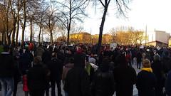 Arrivée sur la Place de la République