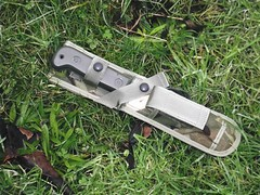 My latest addition to my kit is this 1978 127 M.O.D. 3 survival knife. by Alan 13-7