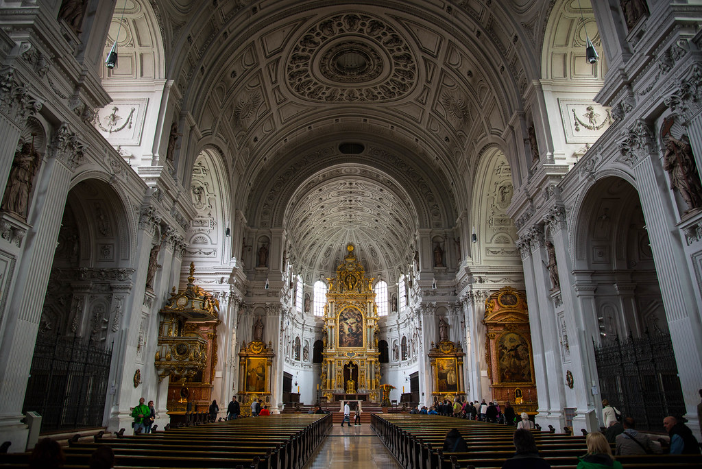 michaelskirche st michael 39 s church in munich germany is flickr. Black Bedroom Furniture Sets. Home Design Ideas