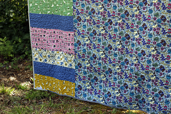 Twirly Top finished quilt