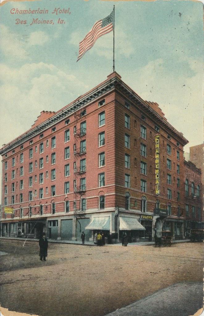 Chamberlain Hotel - Des Moines, Iowa