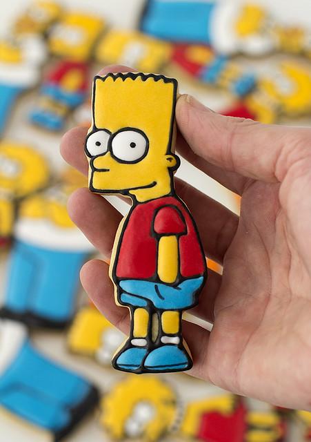 Galletas de los Simpson