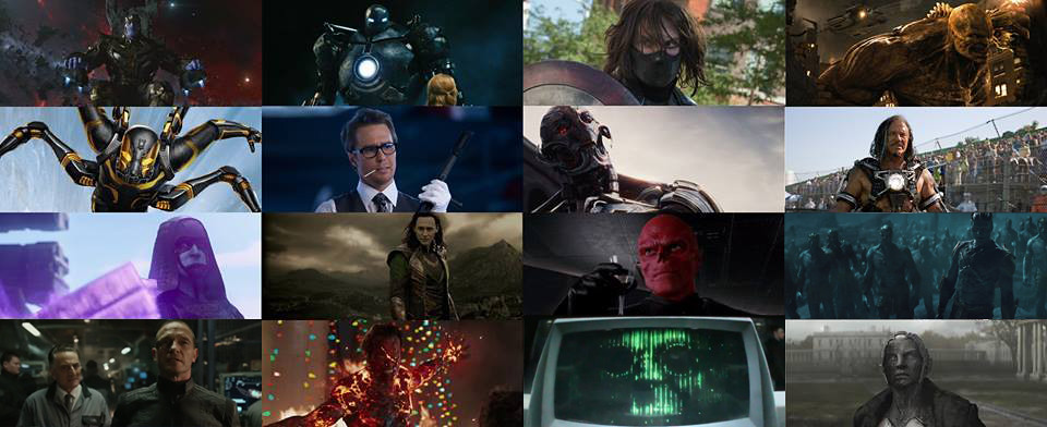 The Villains of the MCU | Here are all the big time comic bo ...