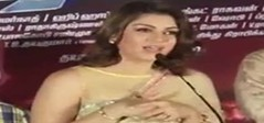 Hansika Motwani at Aambala Movie Audio Launch