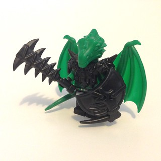 Brick Warriors' green Dragon Man | by floodllama
