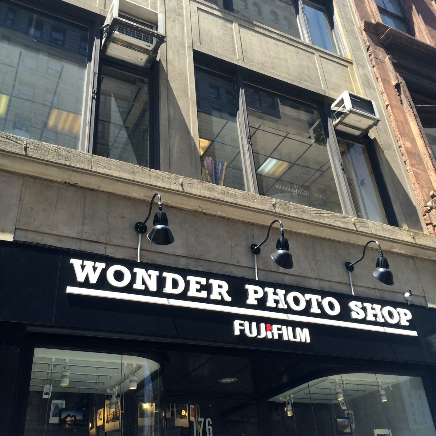 Unique Things to do in NYC: Fujifilm Wonder Photo Shop