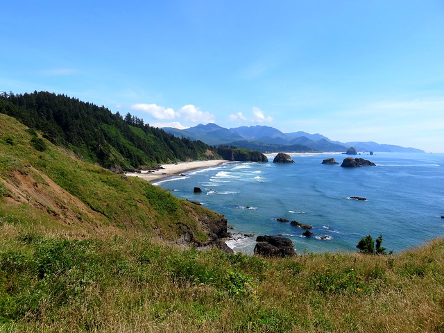 Crescent Beach from Ecola Point