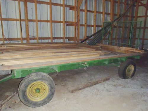 Lot white oak lumber | by thornhill3