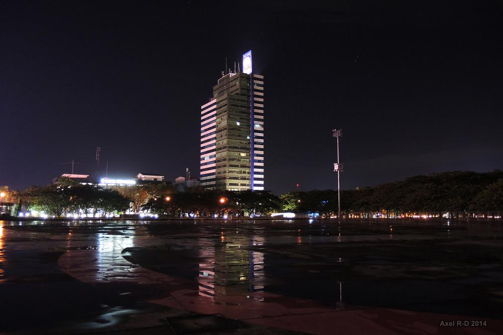 Makassar at night