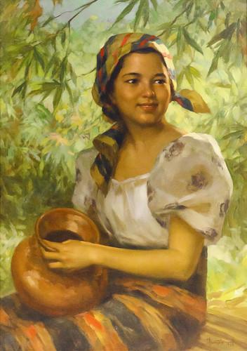 Amorsolo Dalagang Bukid  Fernando Amorsolo Dalagang -5895