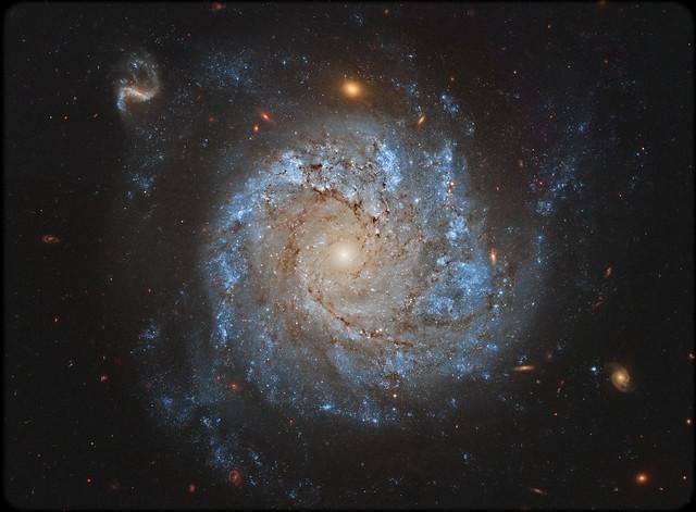 VCSE - Mai kép - NGC 1309 - APOD
