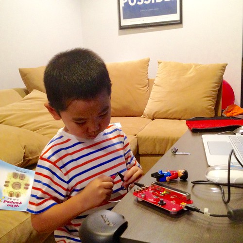 Conducting an experiment with a SparkFun Picoboard