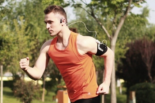 # Hai Tao #AfterShokz AS301: less than 200 bucks can bone conduction