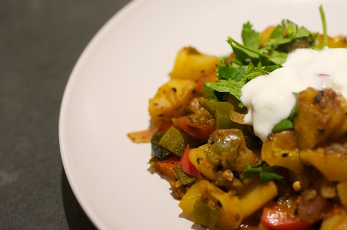 Meatless Monday - Indian Ratatouille | by mirvettium