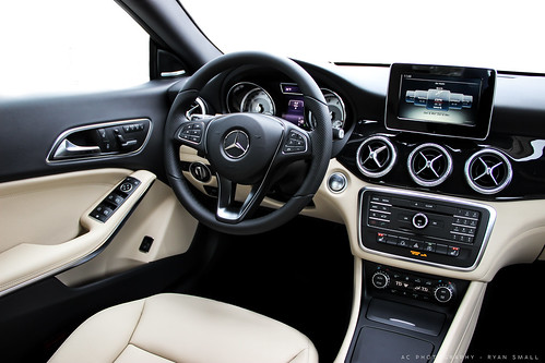 The Interior To The 2015 Mercedes Benz Cla 250 Photo Take Flickr