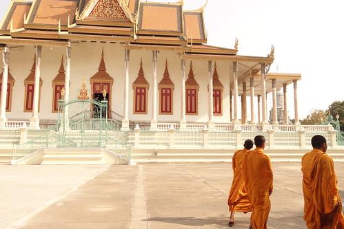 Phnom Penh / palais royale